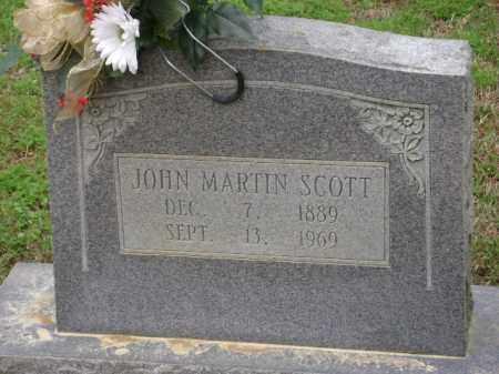 SCOTT, JOHN MARTIN - Monroe County, Arkansas | JOHN MARTIN SCOTT - Arkansas Gravestone Photos