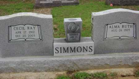 SIMMONS, CECIL RAY - Monroe County, Arkansas | CECIL RAY SIMMONS - Arkansas Gravestone Photos