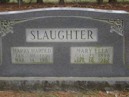 SLAUGHTER, HARRY HAROLD - Monroe County, Arkansas | HARRY HAROLD SLAUGHTER - Arkansas Gravestone Photos