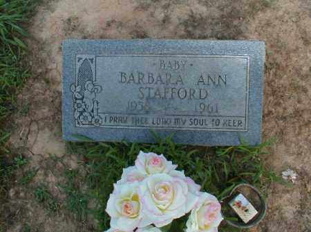STAFFORD, BARBARA ANN - Monroe County, Arkansas | BARBARA ANN STAFFORD - Arkansas Gravestone Photos
