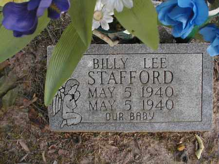 STAFFORD, BILLY LEE - Monroe County, Arkansas | BILLY LEE STAFFORD - Arkansas Gravestone Photos