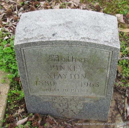STAYTON, PINKEY - Monroe County, Arkansas | PINKEY STAYTON - Arkansas Gravestone Photos
