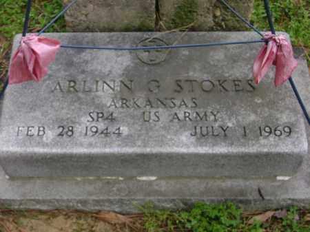 STOKES (VETERAN), ARLINN G. - Monroe County, Arkansas | ARLINN G. STOKES (VETERAN) - Arkansas Gravestone Photos