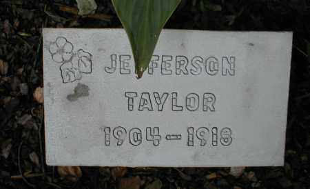 TAYLOR, JEFFERSON - Monroe County, Arkansas | JEFFERSON TAYLOR - Arkansas Gravestone Photos