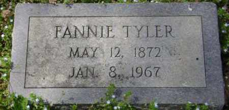 TYLER, FANNIE - Monroe County, Arkansas | FANNIE TYLER - Arkansas Gravestone Photos