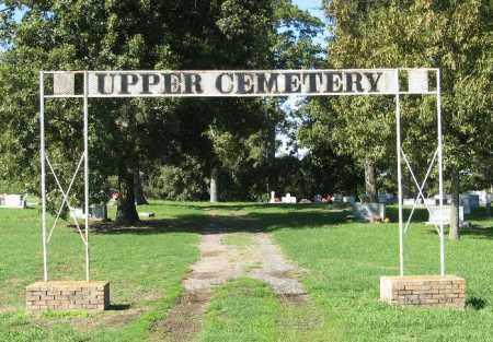 *UPPER CEMETERY, ENTRANCE - Monroe County, Arkansas | ENTRANCE *UPPER CEMETERY - Arkansas Gravestone Photos