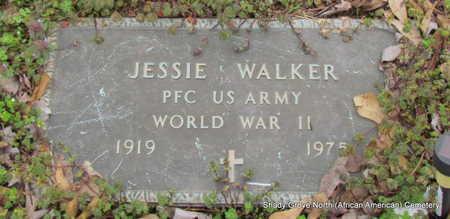 WALKER (VETERAN WWII), JESSIE - Monroe County, Arkansas | JESSIE WALKER (VETERAN WWII) - Arkansas Gravestone Photos