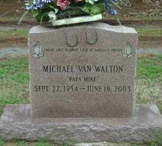 WALTON, MICHAEL VAN - Monroe County, Arkansas | MICHAEL VAN WALTON - Arkansas Gravestone Photos