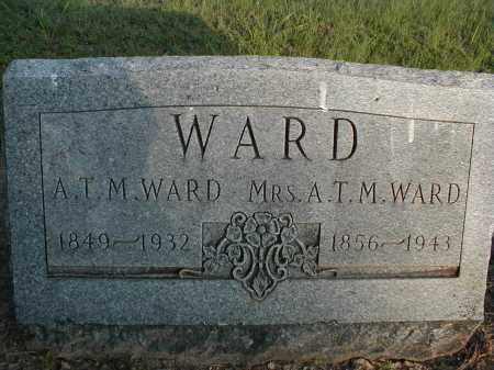 WARD, MRS. A.T.M. - Monroe County, Arkansas | MRS. A.T.M. WARD - Arkansas Gravestone Photos