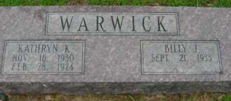 WARWICK, KATHRYN K. - Monroe County, Arkansas | KATHRYN K. WARWICK - Arkansas Gravestone Photos