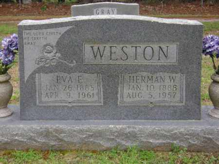 WESTON, HERMAN W. - Monroe County, Arkansas | HERMAN W. WESTON - Arkansas Gravestone Photos