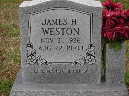 WESTON, JAMES H. - Monroe County, Arkansas | JAMES H. WESTON - Arkansas Gravestone Photos