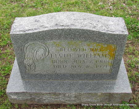 WILLIAMS, ELVUE - Monroe County, Arkansas | ELVUE WILLIAMS - Arkansas Gravestone Photos