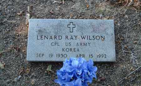 WILSON  (VETERAN KOR), LENARD  RAY - Monroe County, Arkansas | LENARD  RAY WILSON  (VETERAN KOR) - Arkansas Gravestone Photos
