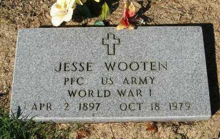 WOOTEN  (VETERAN WWI), JESSE LEE - Monroe County, Arkansas | JESSE LEE WOOTEN  (VETERAN WWI) - Arkansas Gravestone Photos