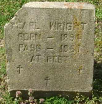 WRIGHT, EARL OR PEARL - Monroe County, Arkansas | EARL OR PEARL WRIGHT - Arkansas Gravestone Photos