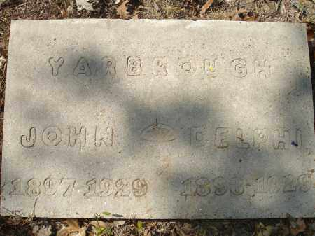 YARBROUGH, DELPHI - Monroe County, Arkansas | DELPHI YARBROUGH - Arkansas Gravestone Photos