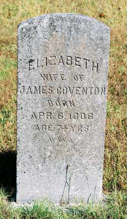 COVENTON, ELIZABETH - Monroe County, Arkansas | ELIZABETH COVENTON - Arkansas Gravestone Photos