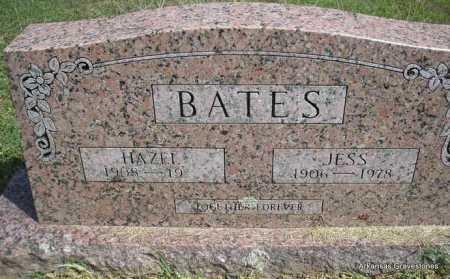 BATES, JESS - Montgomery County, Arkansas | JESS BATES - Arkansas Gravestone Photos