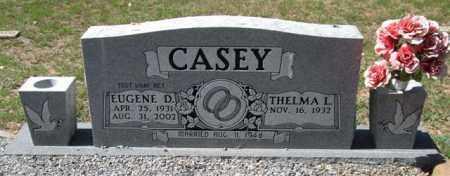 CASEY (VETERAN), EUGENE D - Montgomery County, Arkansas | EUGENE D CASEY (VETERAN) - Arkansas Gravestone Photos