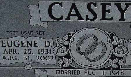 CASEY, EUGENE D (CLOSEUP) - Montgomery County, Arkansas | EUGENE D (CLOSEUP) CASEY - Arkansas Gravestone Photos