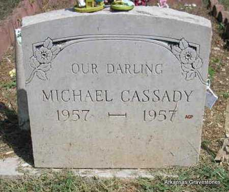 CASSADY, MICHAEL - Montgomery County, Arkansas | MICHAEL CASSADY - Arkansas Gravestone Photos