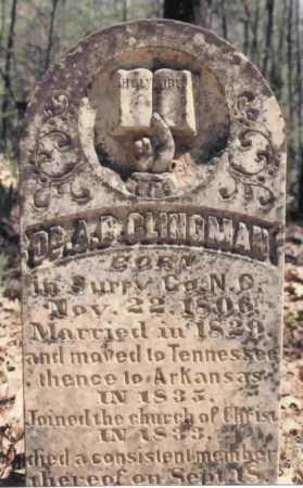 CLINGMAN, ALEXANDER BRANDON - Montgomery County, Arkansas   ALEXANDER BRANDON CLINGMAN - Arkansas Gravestone Photos