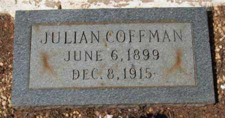 COFFMAN, JULIAN - Montgomery County, Arkansas | JULIAN COFFMAN - Arkansas Gravestone Photos