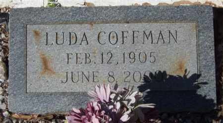 COFFMAN, LUDA - Montgomery County, Arkansas | LUDA COFFMAN - Arkansas Gravestone Photos