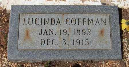 COFFMAN, LUCINDA - Montgomery County, Arkansas | LUCINDA COFFMAN - Arkansas Gravestone Photos
