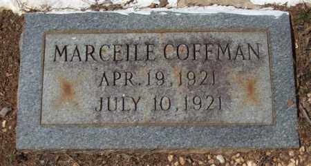 COFFMAN, MARCEILE - Montgomery County, Arkansas | MARCEILE COFFMAN - Arkansas Gravestone Photos
