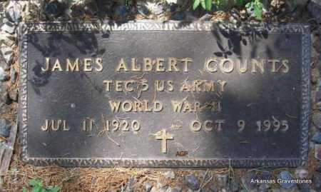 COUNTS  (VETERAN WWII), JAMES ALBERT - Montgomery County, Arkansas | JAMES ALBERT COUNTS  (VETERAN WWII) - Arkansas Gravestone Photos