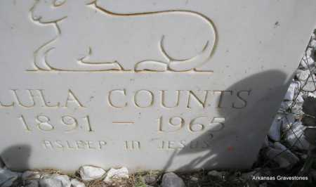 COUNTS, LULA - Montgomery County, Arkansas | LULA COUNTS - Arkansas Gravestone Photos