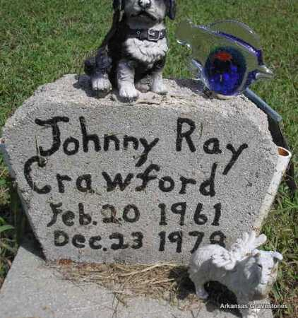 CRAWFORD, JOHNNY RAY - Montgomery County, Arkansas | JOHNNY RAY CRAWFORD - Arkansas Gravestone Photos