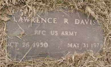 DAVIS  (VETERAN), LAWRENCE R - Montgomery County, Arkansas | LAWRENCE R DAVIS  (VETERAN) - Arkansas Gravestone Photos