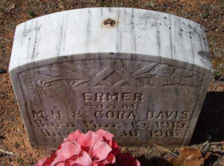 DAVIS, ERMER - Montgomery County, Arkansas | ERMER DAVIS - Arkansas Gravestone Photos