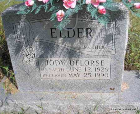 ELDER, JODY DELORSE - Montgomery County, Arkansas | JODY DELORSE ELDER - Arkansas Gravestone Photos
