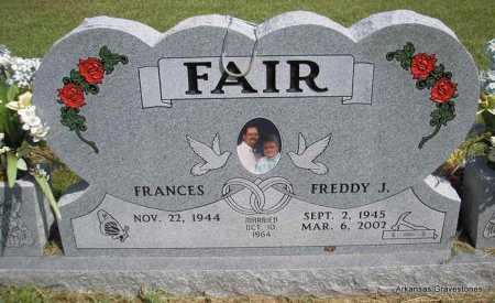 FAIR, FREDDY J - Montgomery County, Arkansas | FREDDY J FAIR - Arkansas Gravestone Photos