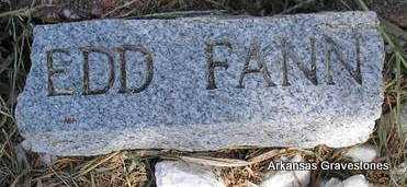 FANN, EDD - Montgomery County, Arkansas | EDD FANN - Arkansas Gravestone Photos