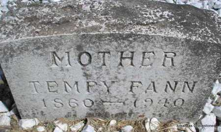 "FANN, TENNESSEE ""TEMPY"" - Montgomery County, Arkansas 
