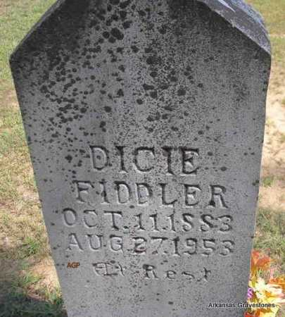 FIDDLER, DICIE - Montgomery County, Arkansas | DICIE FIDDLER - Arkansas Gravestone Photos