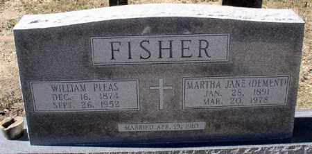 DEMENT FISHER, MARTHA JANE - Montgomery County, Arkansas | MARTHA JANE DEMENT FISHER - Arkansas Gravestone Photos