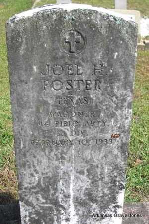 FOSTER  (VETERAN), JOEL H - Montgomery County, Arkansas | JOEL H FOSTER  (VETERAN) - Arkansas Gravestone Photos