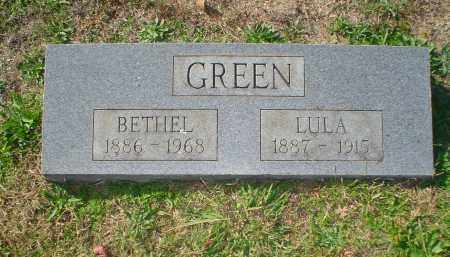 GREEN, LULA - Montgomery County, Arkansas | LULA GREEN - Arkansas Gravestone Photos