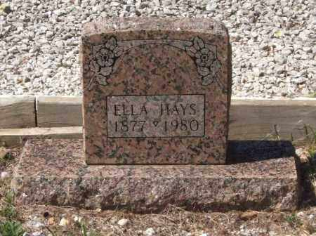 HAYS, ELLA - Montgomery County, Arkansas | ELLA HAYS - Arkansas Gravestone Photos