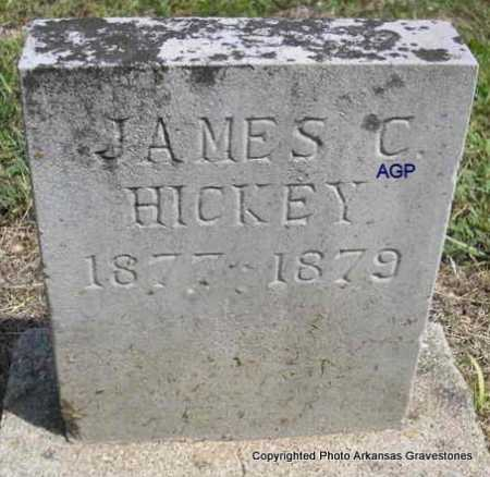 HICKEY, JAMES C. - Montgomery County, Arkansas | JAMES C. HICKEY - Arkansas Gravestone Photos