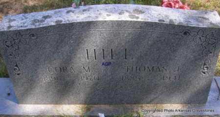 HILL, CORA M - Montgomery County, Arkansas | CORA M HILL - Arkansas Gravestone Photos