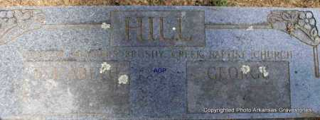 HILL, GEORGE - Montgomery County, Arkansas | GEORGE HILL - Arkansas Gravestone Photos