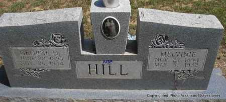 HILL, MELVINIE - Montgomery County, Arkansas | MELVINIE HILL - Arkansas Gravestone Photos