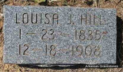 HILL, LOUISA J - Montgomery County, Arkansas | LOUISA J HILL - Arkansas Gravestone Photos